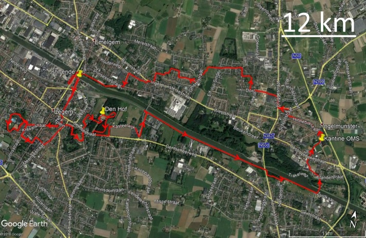 12 km 17 juli 2018