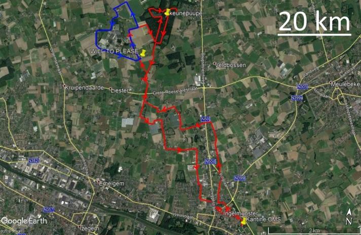 20 km 7 augustus 2018